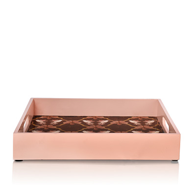 fluttering avana serving tray