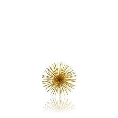 ALAMBRE WALL DECOR GOLD SMALL