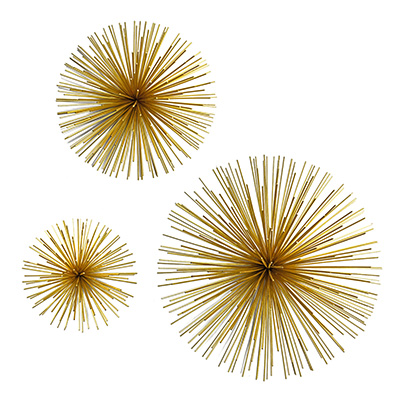 ALAMBRE WALL DECOR GOLD LARGE