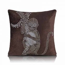 macaque cushion cover