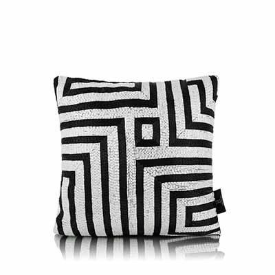 Beaded Maze Cushion Cover