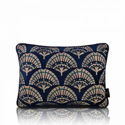 papyrus blue cushion cover