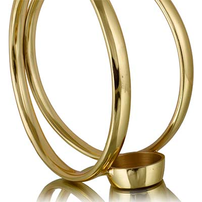 Sirius Candle Holder Gold