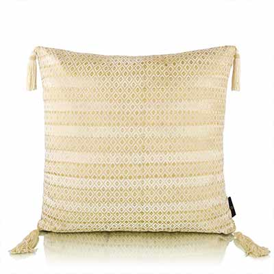 imprinted stripes cushion cover
