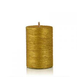 tappa candle tiny gold