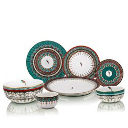 sammezzano dinner set for 6