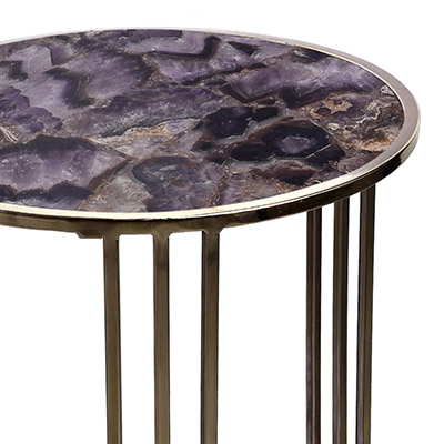 CHALCEDONY AGATE TABLE