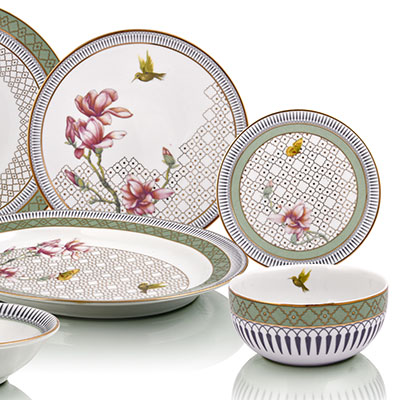 ethe`re` dinner set for 6