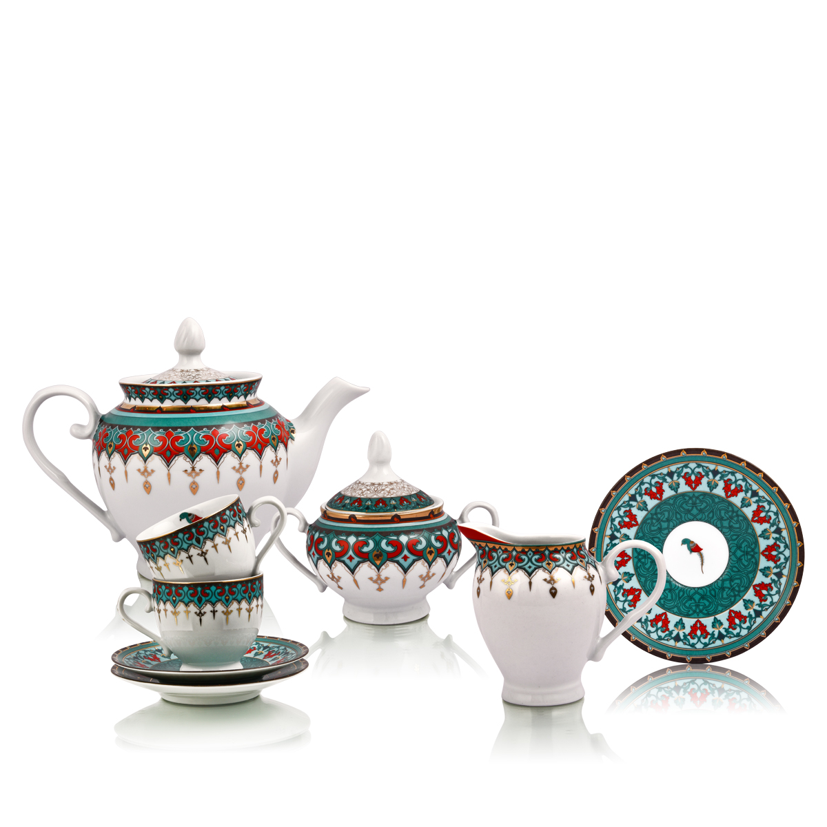 sammezzano tea set