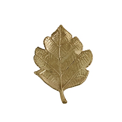 MAPLE LEAF WALL DECOR GOLD SMALL