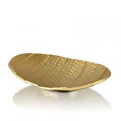 ovate decor platter small