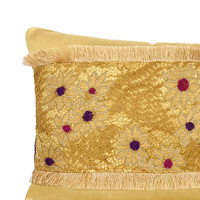 Furano Chartruese Velvet Cushion Cover