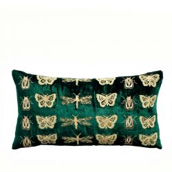 volary valley velvet cushion cover