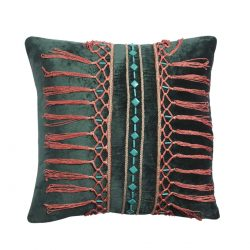 plumery velvet cushion cover