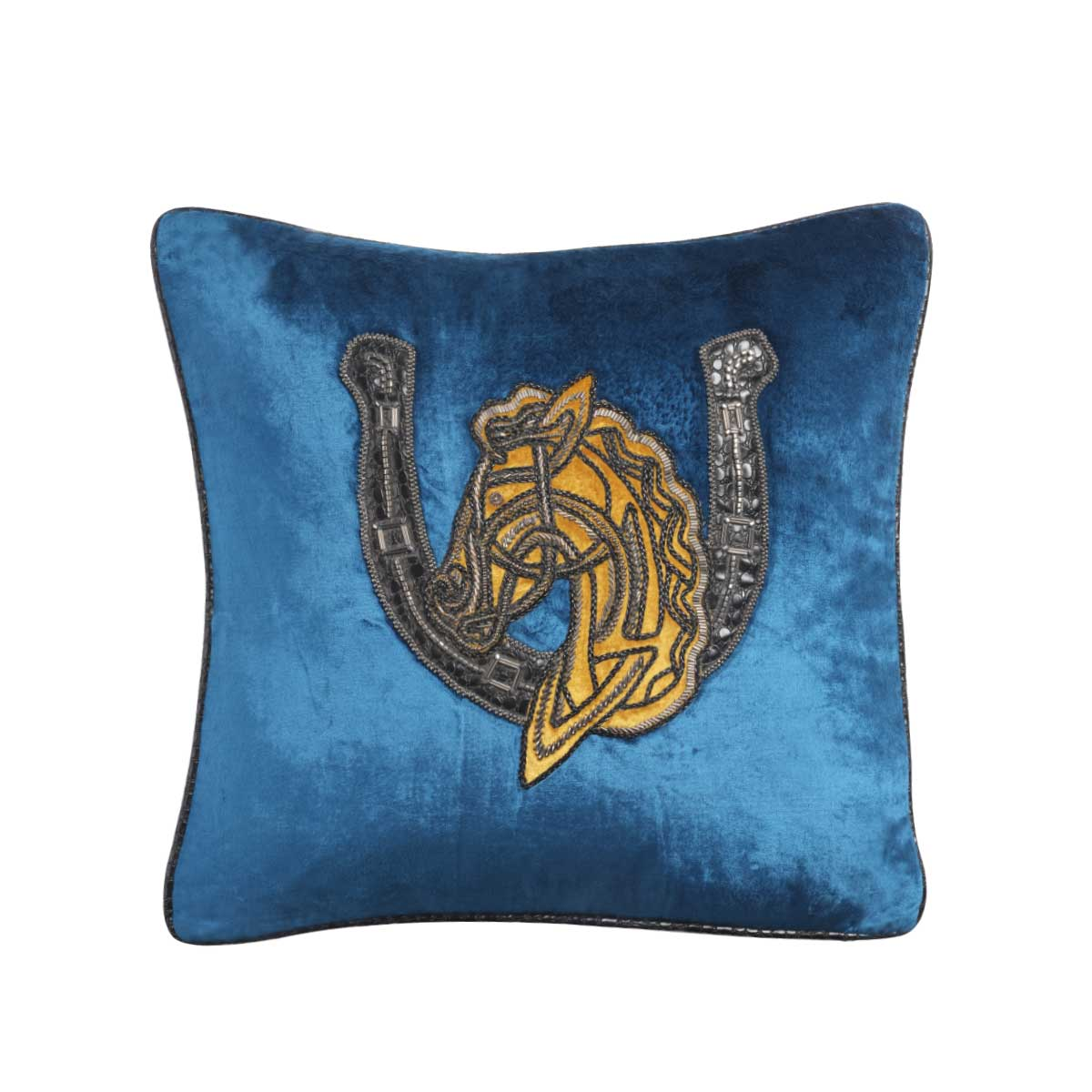 bucephala velvet cushion cover