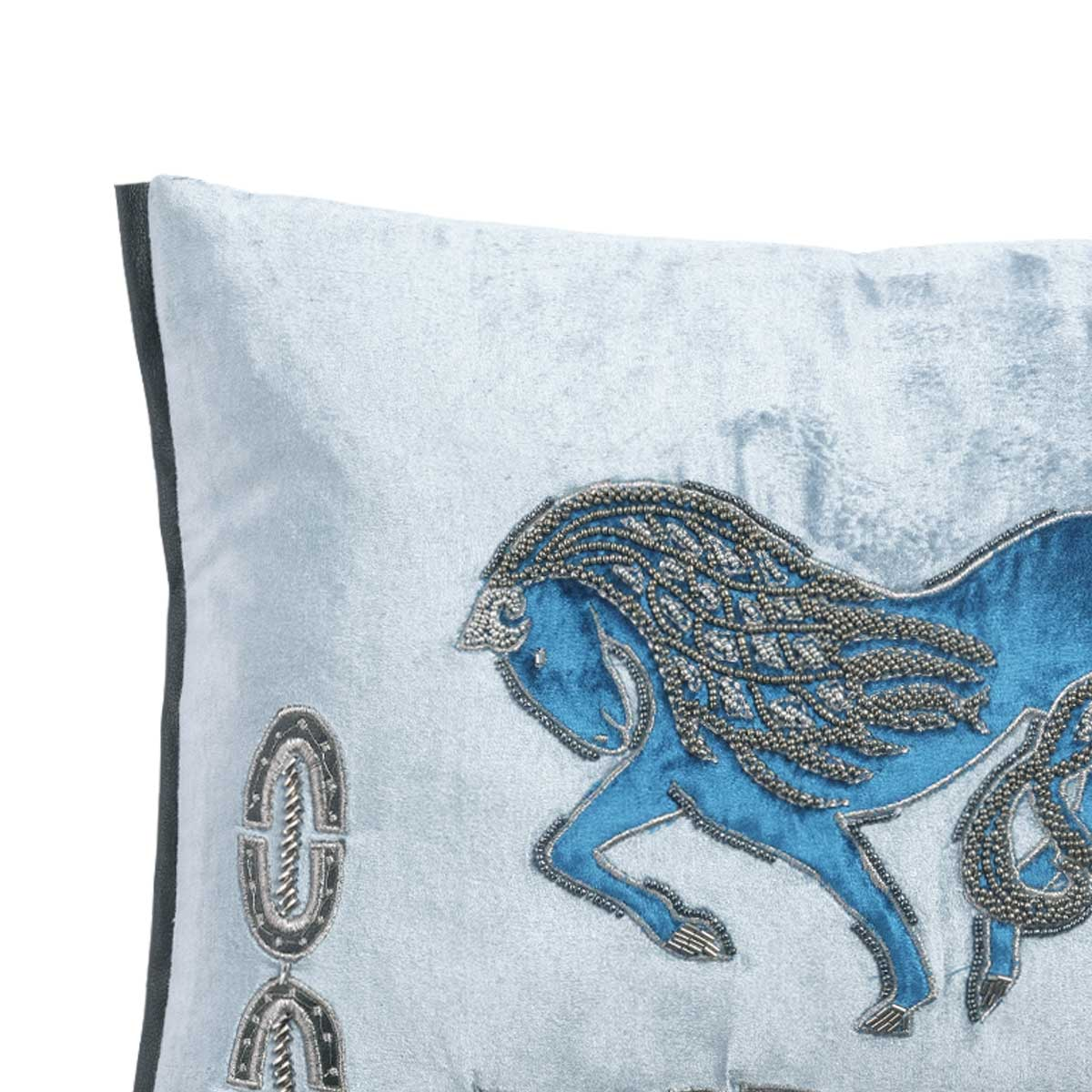 sleipnir velvet cushion cover