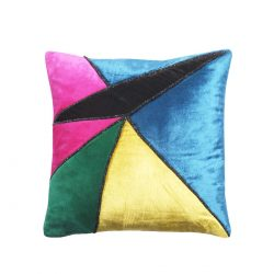 fractus velvet cushion cover