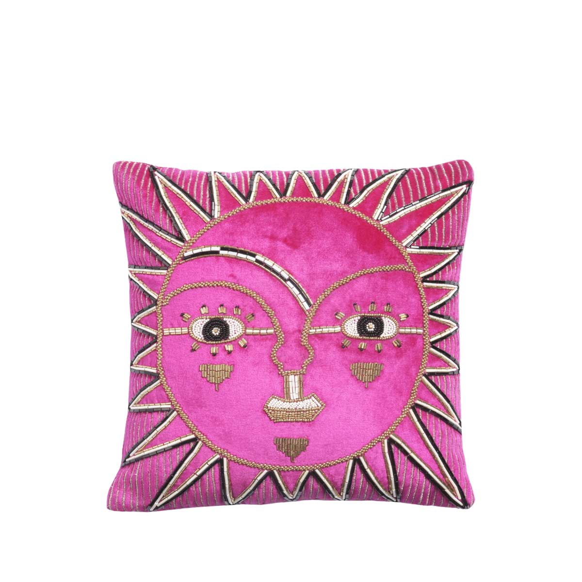 solis velvet cushion cover